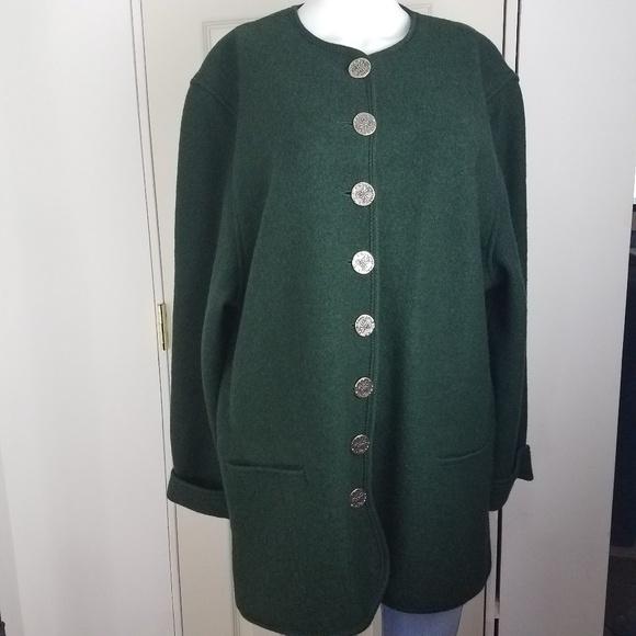 Litza Bavarian Country Germany Wool Jacket 42 EUR